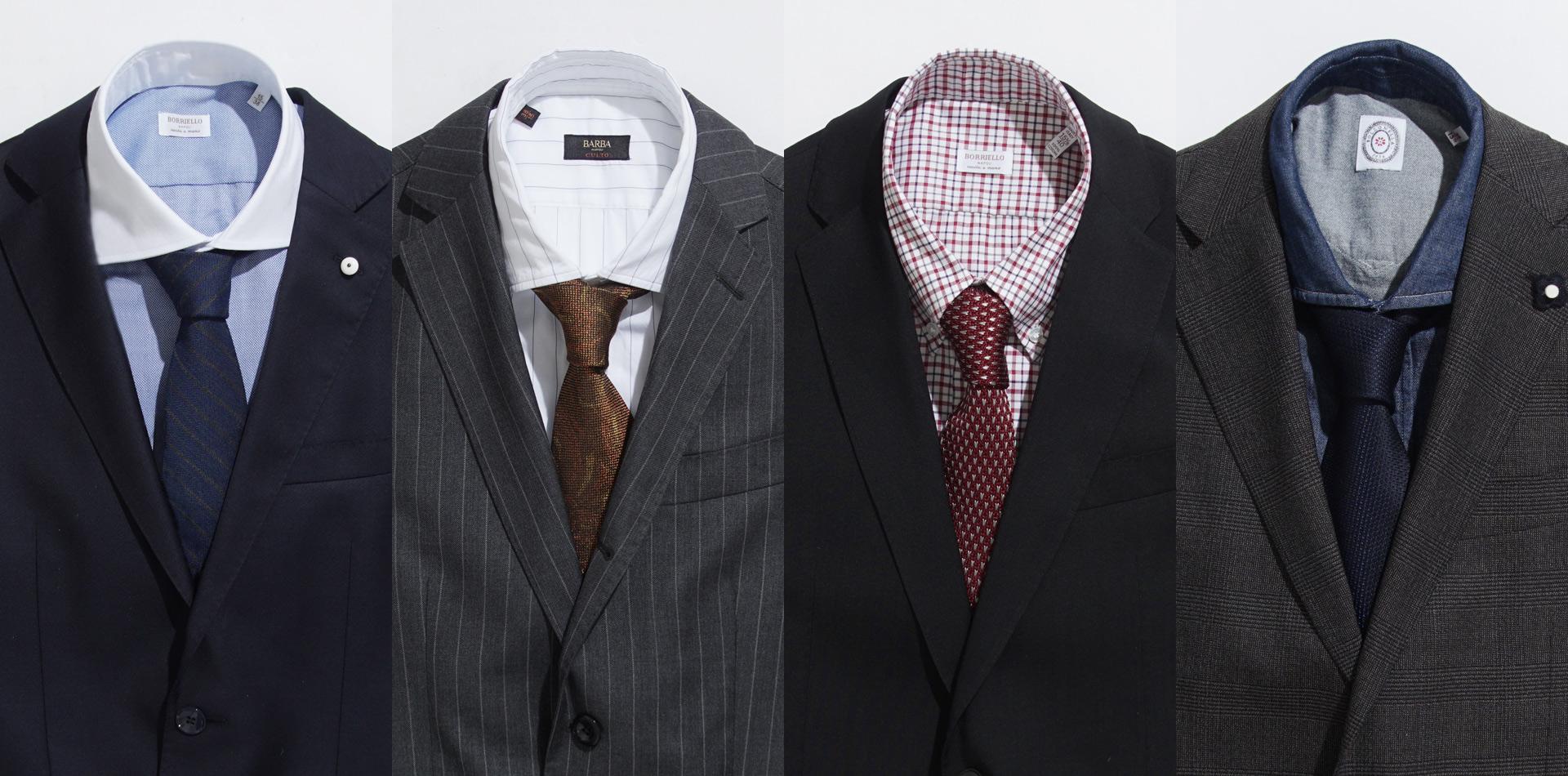 f3b9eea380c2 これであなたもデキル男。スーツとシャツ・ネクタイの絶対相性! ~コーデ篇~    モダンブルー