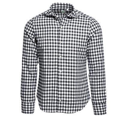FINAMORE ホリゾンタルカラーシャツ